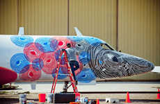 Decommissioned Aircraft Artwork