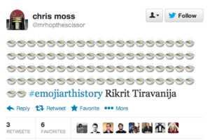 Emoji Art History Interprets Iconic Pieces With Emoticon Lexicon