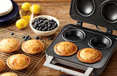 The Personal Pie Maker Makes the Delectable Treat in a Snap