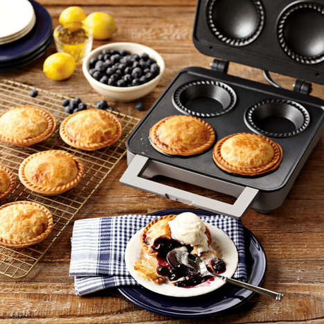 Bite-Sized Pie Makers - The Personal Pie Maker Makes the Delectable Treat in a Snap