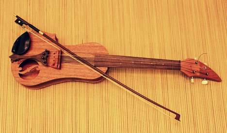 Hybrid Musical Intruments - Daniel Sanchez's Fleonalu is the Love Child of Violin and Ukulele