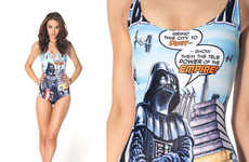 From Sci-Fi Celebrity Beachwear to Seductively Geeky Swimwear