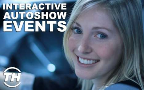 Interactive Autoshow Events - Jaime Neely Explores the Volkswagen Cross Coupe