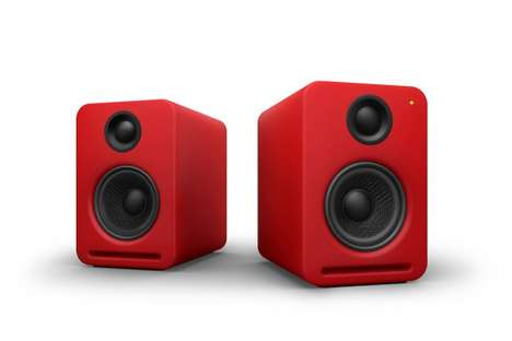 air monitor speakers