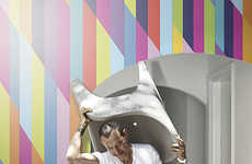 Karim Rashid's Wallpapers Bring Digital Utopia to Inte