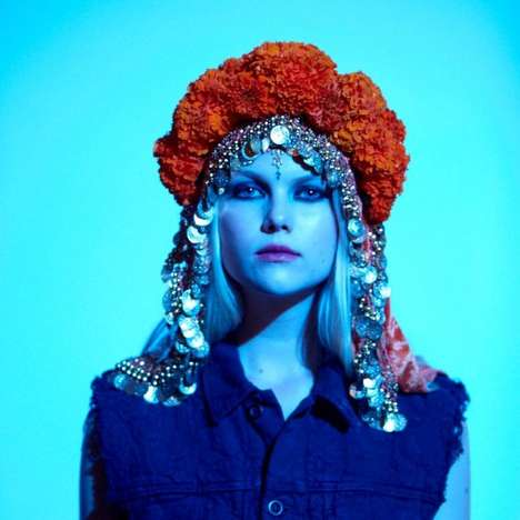 Hippy Artisan Lookbooks - The Levi's 2013 'Artisan Blanket' Collection is a Bohemian Dream (TrendHunter.com)