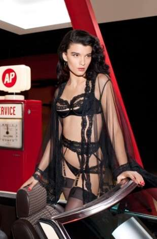 Risqué Gas Station Collections (UPDATE) - The Agent Provocateur Spring/Summer Collection is Chi