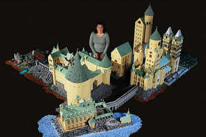 Alice Finch Has Created This Impressively Inclusive LEGO Hogwarts