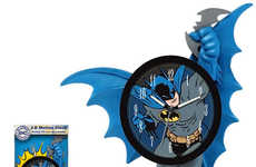 Moving Superhero Timepieces