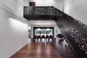 This Montreal Home Features a Stunning 'Iron Lace' Staircase