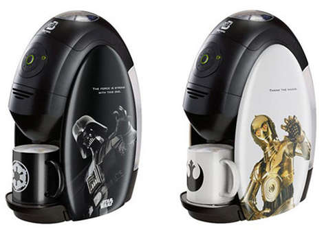Sci-Fi Coffee Machines
