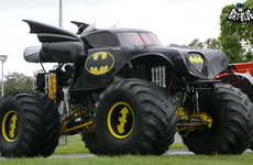 Superheroic Monster Trucks - This Batmobile Monster Truck Will Crush Cars and Crime
