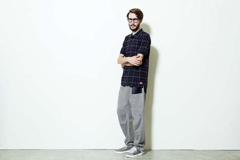 Nerdy Activewear Lookbooks - The Retrograde Resistance 84-Lab x Adidas Originals Series is Casual
