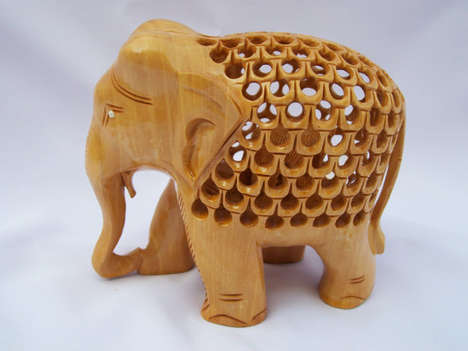 Wooden Animal Sculpture