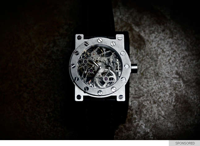Gear-Exposed Timepieces
