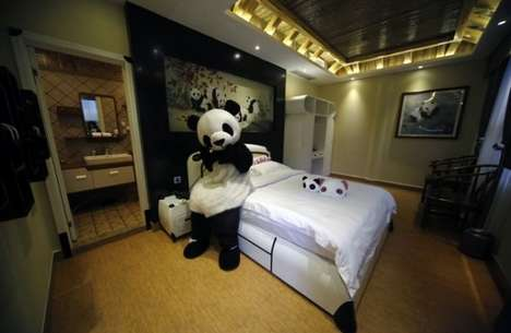 Panda-Themed Hotels - The Haoduo Panda Hotel is a Cuddly Place to Sleep