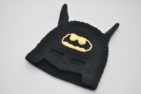 Super Hero Baby Bonnets - These Creations By Geekling Are Contemporary, Cute and Nerdy