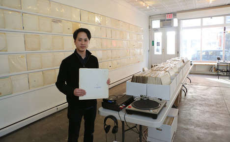 Single Album Record Stores - Rutherford Chang Opens a Record Store That Only Sells the White Album