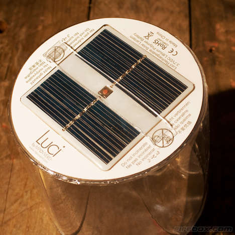 Collapsable Solar Power Lanterns