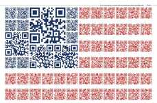 QR Code Flag Ads