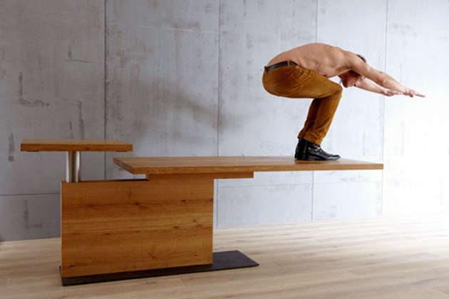 Multi-Functional Height-Adjusting Desks
