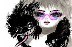 Dark Harajuku Girl Graphics