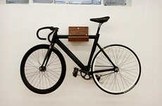 Minimalist Cycle Storage - The Make Bike Rack Marries Practicality with a Clean Design Concept