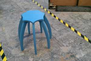 The Quirky Milli Stool Takes an Arachnid Form with a Single Missing Leg