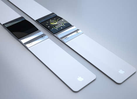 Computer-Synced Chronometers - The Clockwork Apple Concept is a Sleek and Eco iWatch Proposal