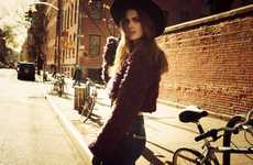 The DTA Jeans Fall 2013 Campaign Stars a Casual Chic Maria Palm