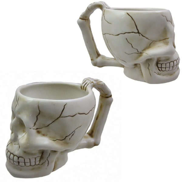 Spooky Skeletal Mugs