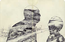 Surreal Faceless Illustrations