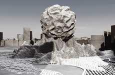 Meteorite Social Monuments