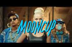 The Mooncup Rap Campaign Targets Periods in a New Light