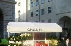 The Chanel Vending Cart in London's Covent Garden is Glam