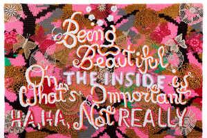 The Latest Agatha Olek Exihibtion is an Explosion of Crochet