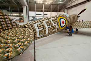Charlotte Austen and Jack Munro Create a Model WWII Plane
