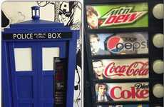 EPIC Comics Turned a Vending Machine into a Tardis Telephone Box