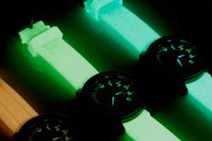 These Divers GID Watches Glow-in-the-Dark and are Water-Proof