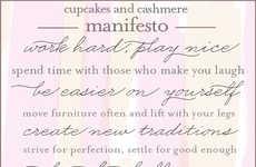 Inspirational Social Media Manifestos