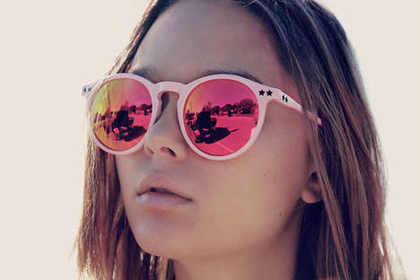 History-Minded Sunglasses - The Wildfox Sun Spring Shade Collection is Inspired by Classic Looks
