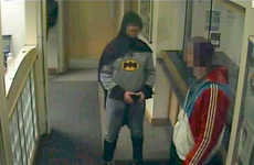 A Real Life Batman Turns Over a UK Burglar in Costume