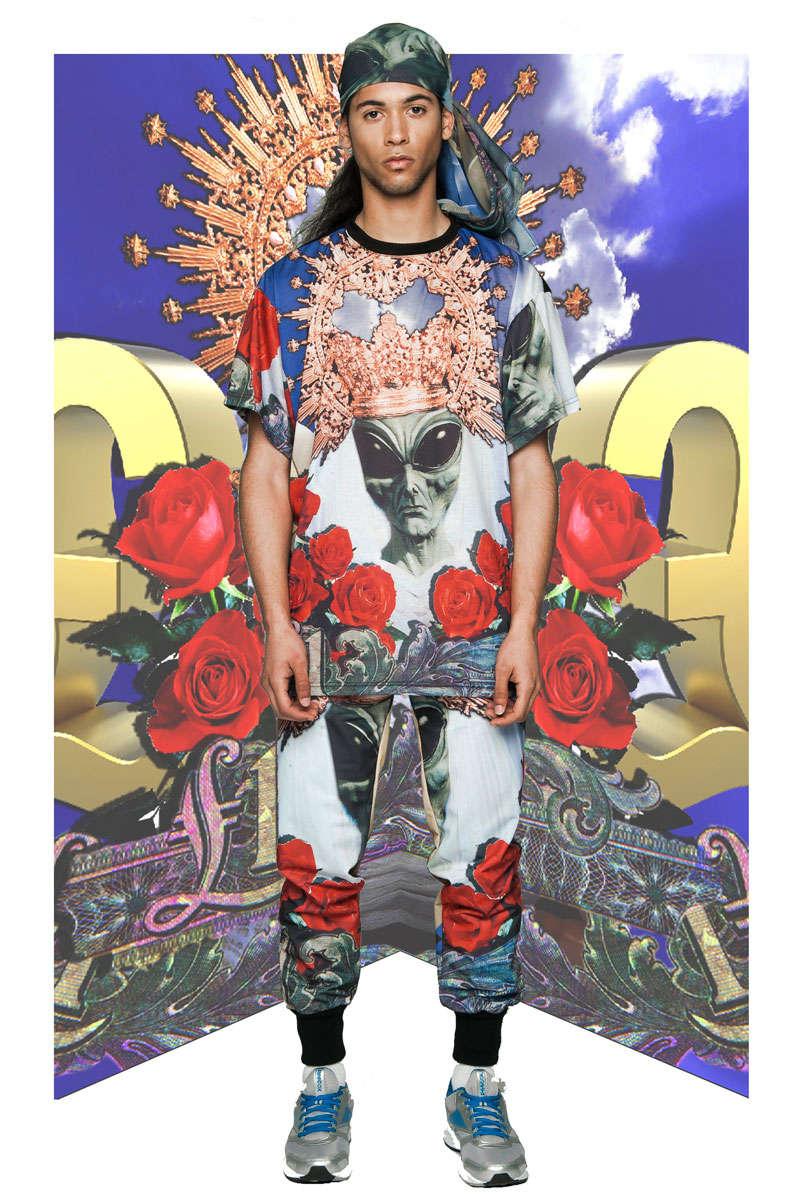 Psychedelic Sci-Fi Streetwear