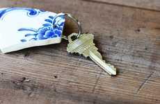 Smashed Vase Keychains - Use Broken Pottery Pieces to Create DIY Keepsake Key Holders