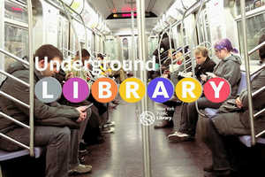 New York Commuters Tap into the Digital Subway Library for Free Reads