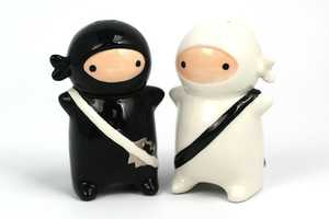 The Ninja Salt and Pepper Shakers are Fierce and Covert