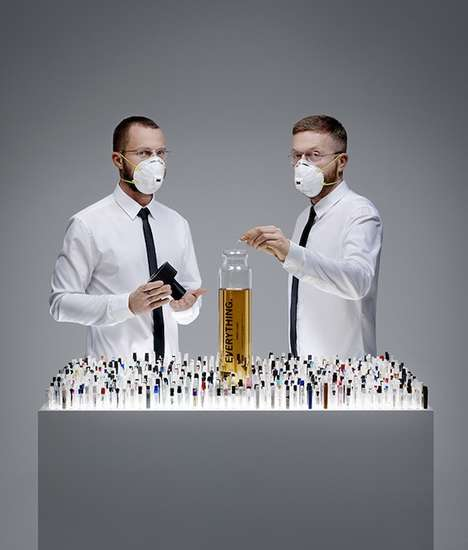 Perfume Soup Concoctions - Everything by Lernert & Sander is Made of 1,400 Separate Fragrances