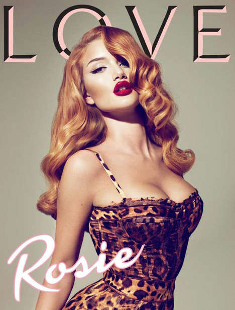 32 Rosie Huntington-Whiteley Photoshoots - From Sweetly Seductive Fashion to Nude Fragrance Ads