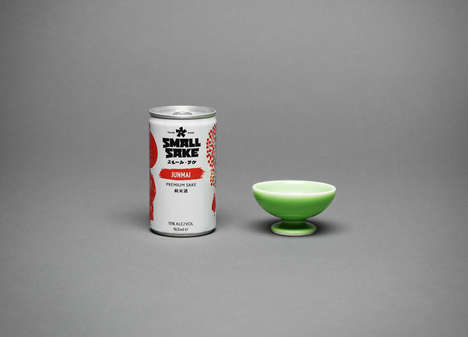 Canned Japanese Spirits - Small Sake Simplifies the Traditional Alcoholic Beverage for Modern Times