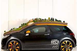 The Citroen DS3 Rally Diorama Celebrates 21 Rally Titles